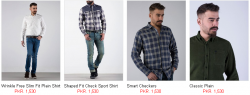 Shirts By Outfitters For Mens Solid Printed Stuff Designs Colors Price