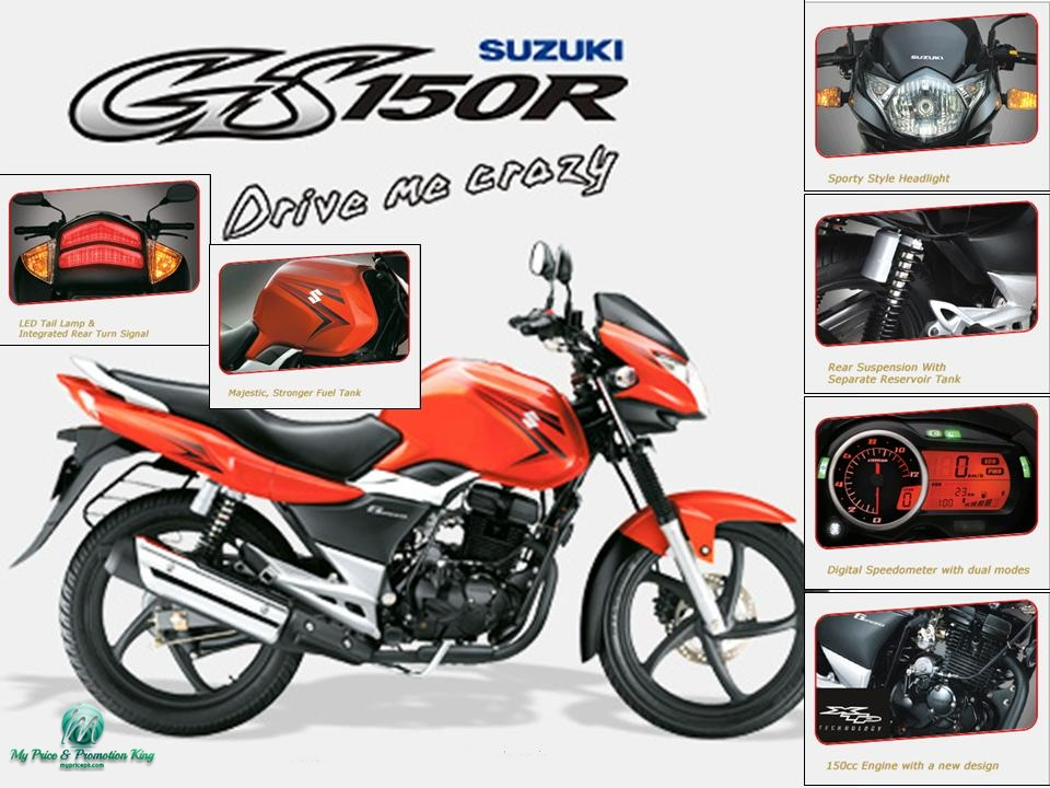 Suzuki Gs150r Price In Pakistan 2018 Model With New Shape Features