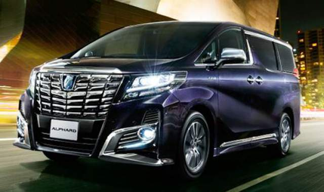Toyota Alphard Hybrid New Model 2017 Review and Price in Pakistan ...