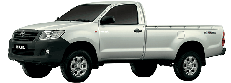 Reshaped Model 2021 Toyota Hilux 4X2 Single Cab Deckless Colors Fuel Loading Capacity Price In Pakistan UK USA