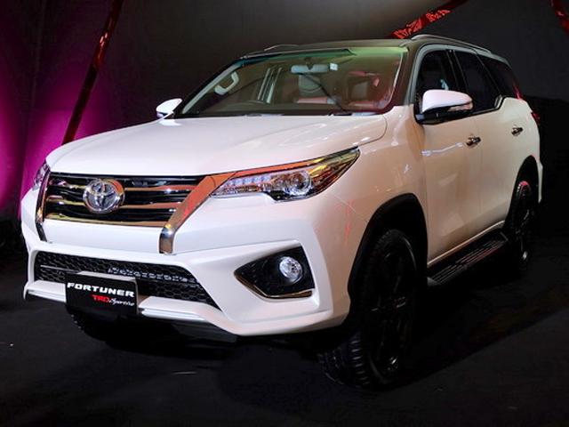 New Model 2017 Toyota Fortuner Trd Sportivo Spec Features