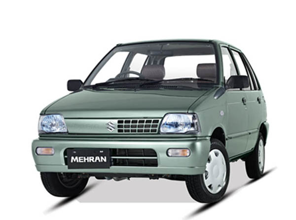 Suzuki Mehran VXR Euro II CNG Model 2021 Car Price in Pakistan Mileage Shape Features Reviews