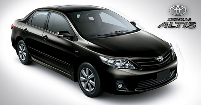 toyota corolla altis automatic 1 6 2018 model car price in pakistan pictures shape features. Black Bedroom Furniture Sets. Home Design Ideas
