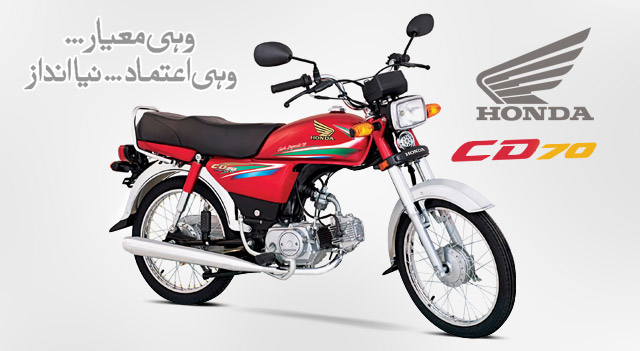 Honda new model bike image and price in pakistan